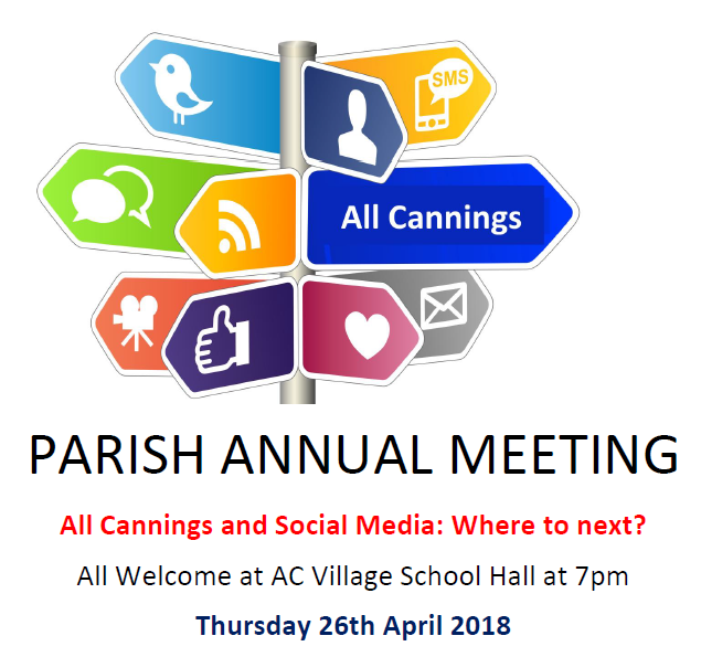 Annual Parish Meeting 2018
